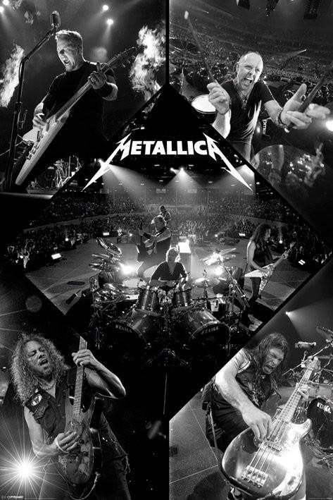 Metallica - live Poster