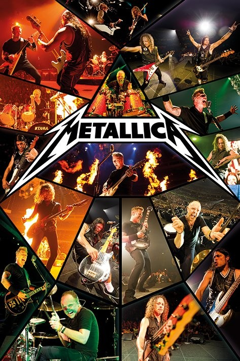 Metallica Live Poster Sold At Europosters
