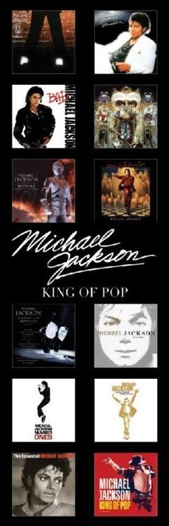 Michael Jackson - albums Poster, Art Print