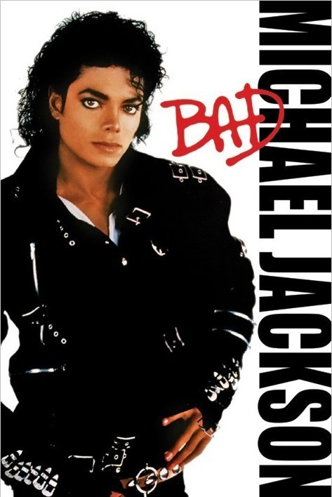 Michael Jackson Bad Poster Sold At Europosters