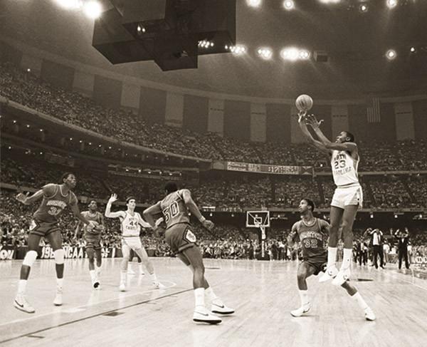 Poster Michael Jordan - last shot