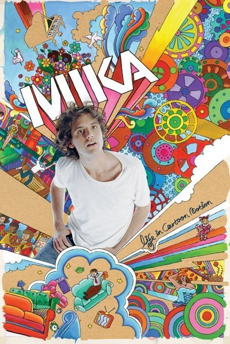 Mika Life In Cartoon Motion Poster Sold At Europosters