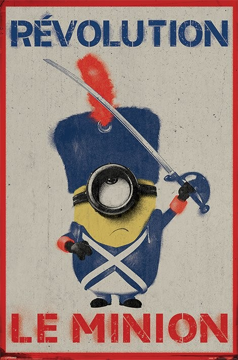 Minions Revolution Le Minion Poster Sold At Europosters