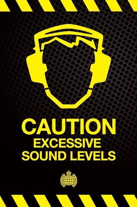 Ministry of sound - vorsicht übermäßigen … Poster