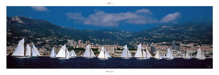 Monaco Classic Week Art Print