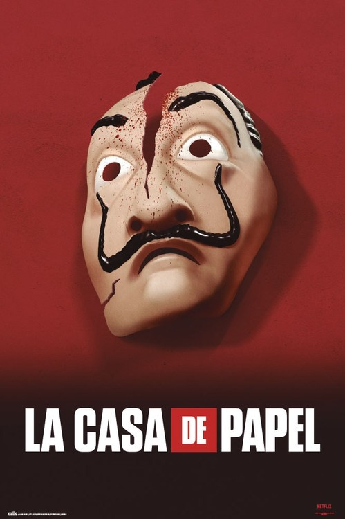 Money Heist - Mask Poster