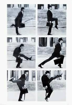 Monty Python: Silly Walks - John Cleese Poster