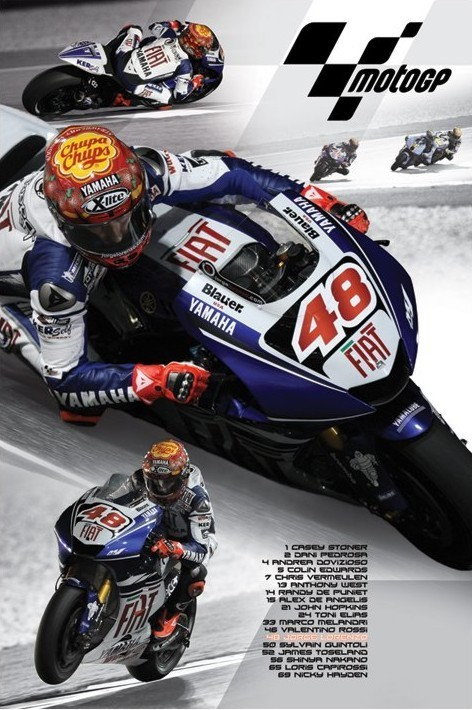 Pôster Moto GP - lorenzo