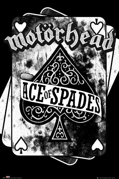 Poster Quadro Motorhead Ace Of Spades Em Europosters Pt