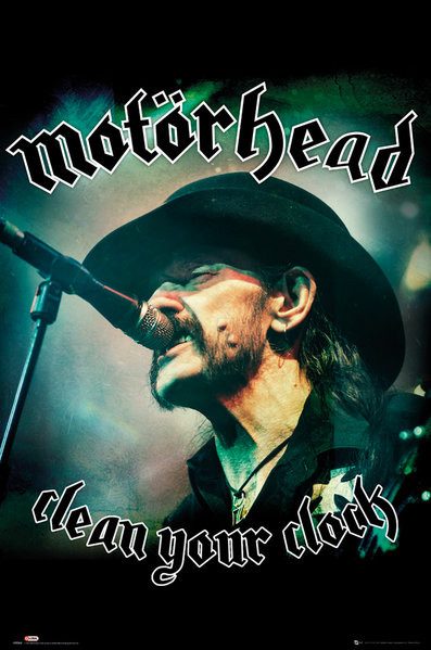 Motorhead - Clean Your Clock (Global) Poster
