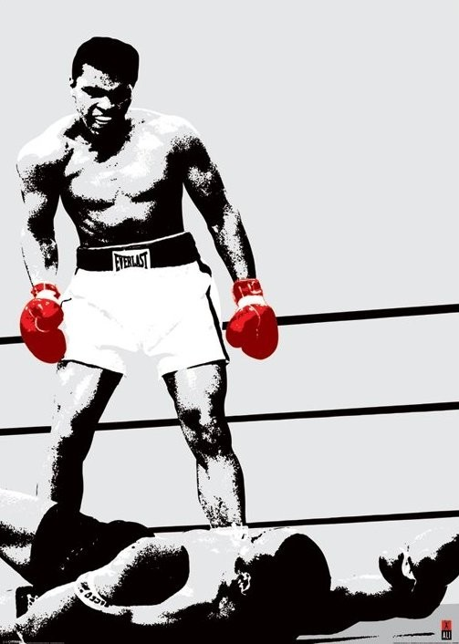 Muhammad Ali Gloves Poster Sold At Ukposters