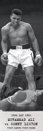 Muhammad Ali - vs. Sonny Liston Poster