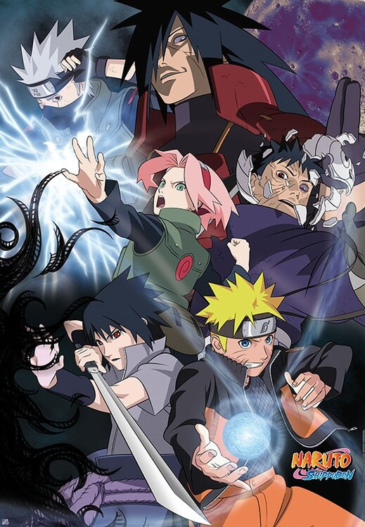 Poster Naruto Shippuden - Group Ninja War