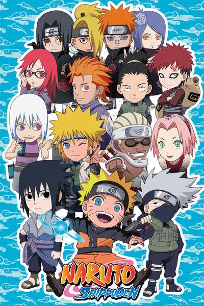 Naruto Shippuden - SD Compilation Poster