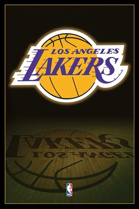Nba los angeles lakers logo poster sold at europosters nba los angeles lakers logo poster voltagebd Image collections