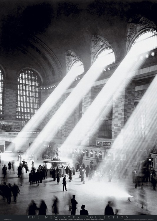 New York - Grand central station Poster