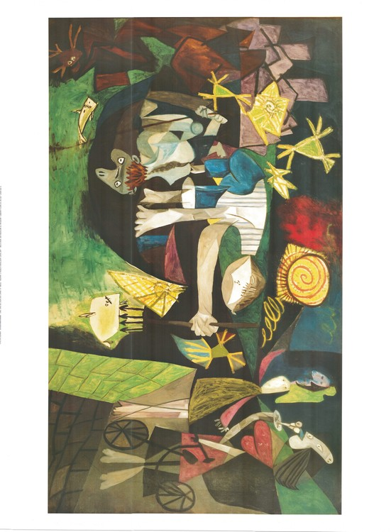 Night fishing at antibes 1939 art print buy at europosters - Decoration boite de nuit ...