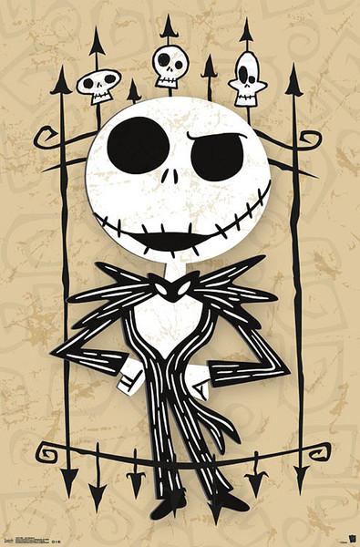 Nightmare before Christmas - Jack Poster
