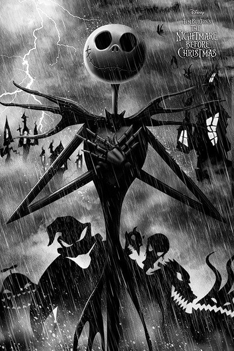 Poster Nightmare Before Christmas - Storm