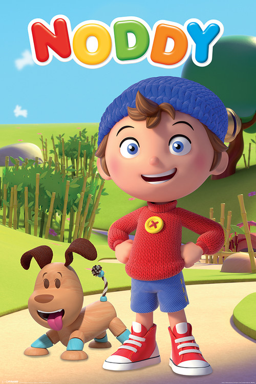 noddy characters poster sold at europosters