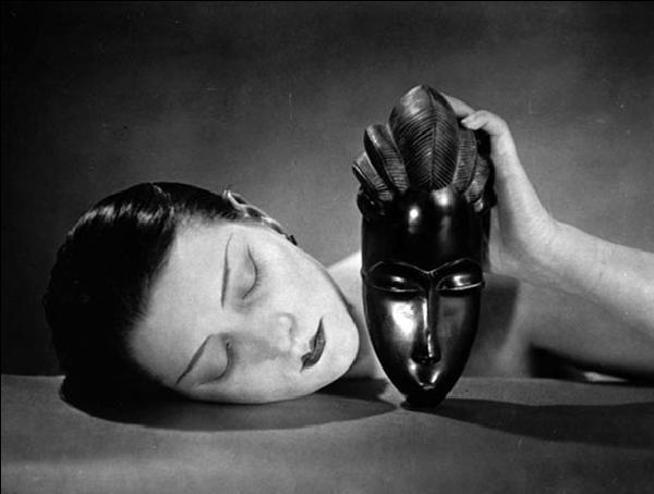 Noire et Blanche - Black and white, 1926 Art Print