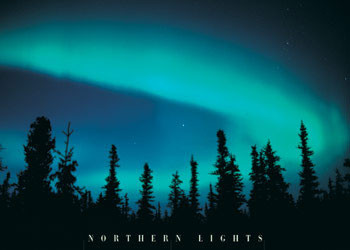 Poster Nothern lights