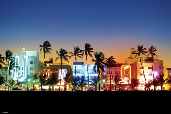ocean drive miami poster sold at abposters com