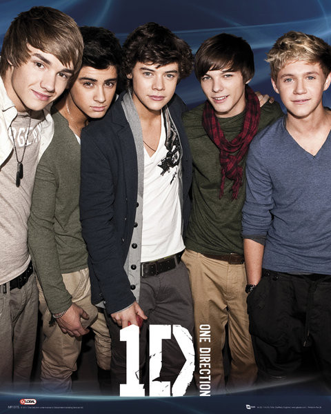 Poster One Direction - Blue