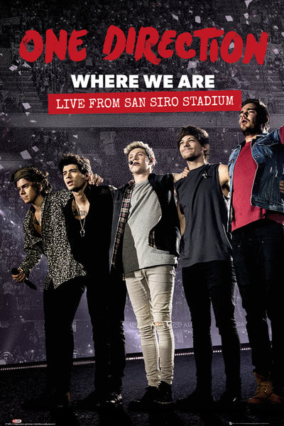 One Direction - Movie Poster