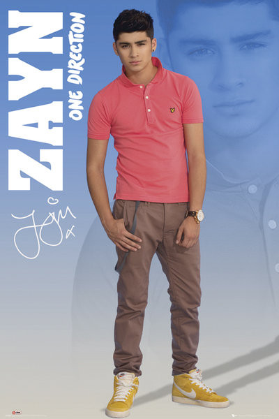 One Direction - zayn 2012 Poster