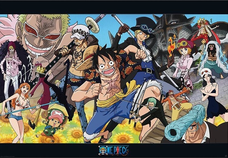 Poster One Piece - Dressrosa