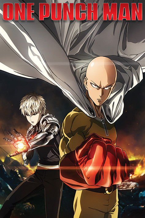Poster One Punch Man - Destruction