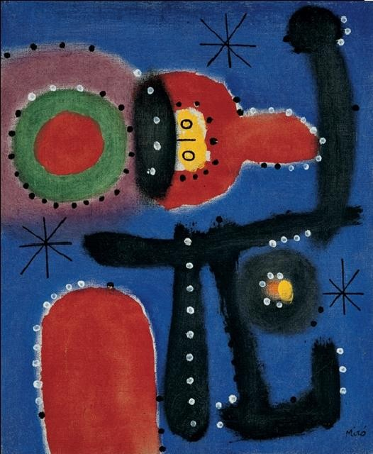 Painting, 1954 Art Print