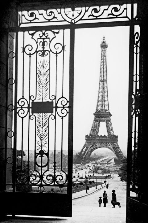 Paris Gates Poster Sold At Europosters