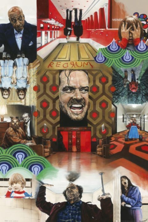 PAUL STONE - the shining Poster