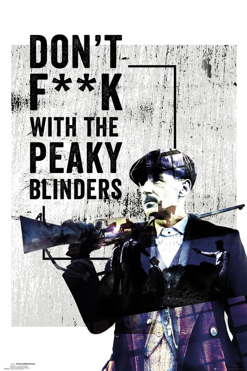 Poster Peaky Blinders - Don't F**k With
