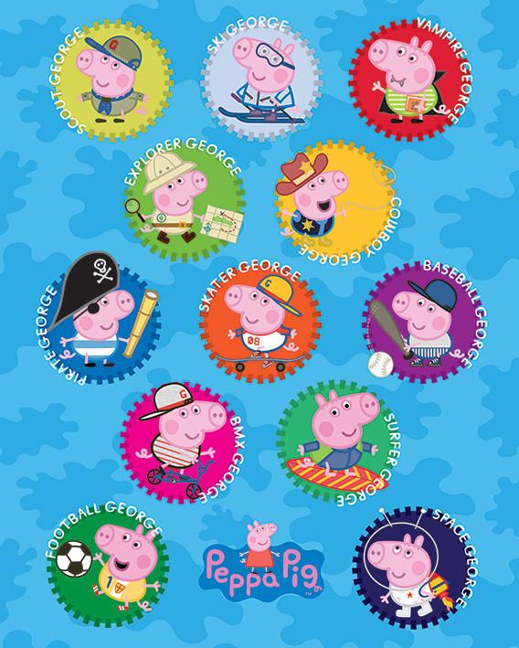 Peppa Pig - George Poster