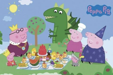 PEPPA PIG   Princess Picnic Poster Part 38