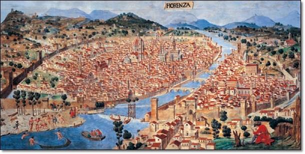 Pianta di firenze verso il 1470 art print buy at europosters altavistaventures Images
