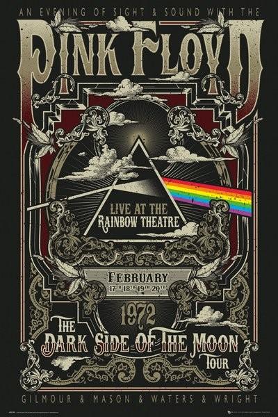 6f6191700 Poster Pink Floyd - Rainbow Theatre ...