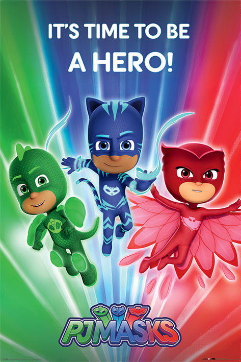 pj masks be a hero poster sold at abposters com