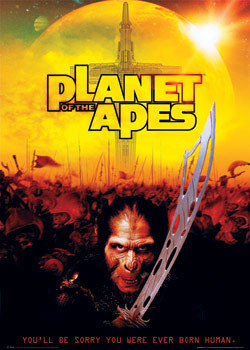 PLANET of APES - thade sw. Poster, Art Print