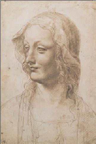 Portrait of a Woman - Busto Di Donna Art Print