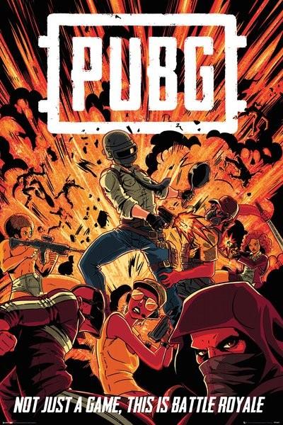 PUBG - Boom Poster