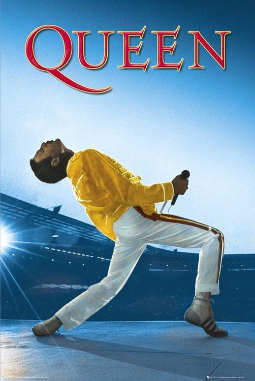 Queen - Live At Wembley Poster