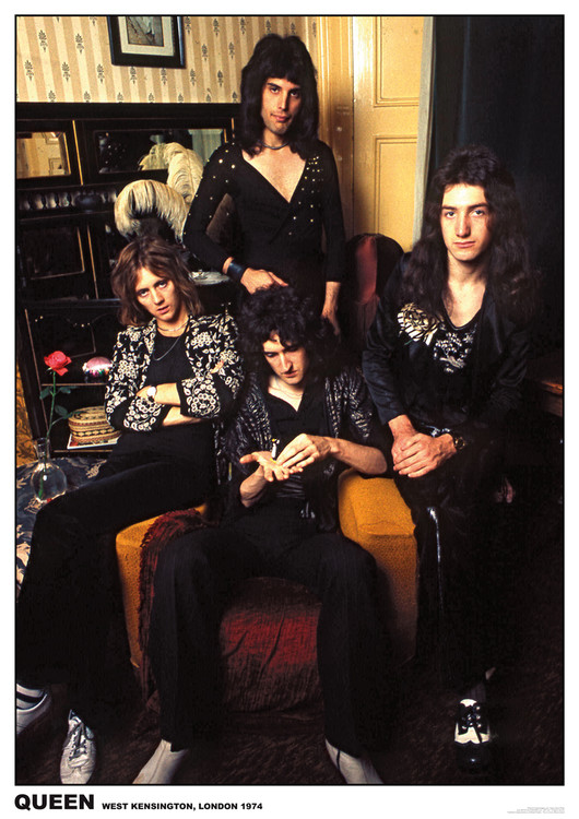 Queen - London 1974 Poster