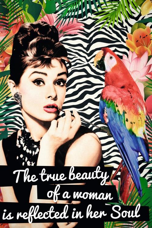 Radio Days - Audrey Poster, Art Print