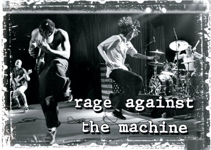 Rage Against The Machine Stage Poster Sold At Ukposters