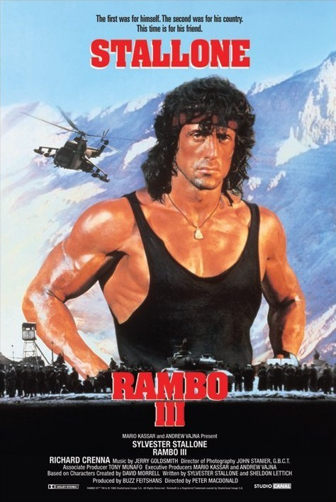 RAMBO III Poster | Sold at Europosters