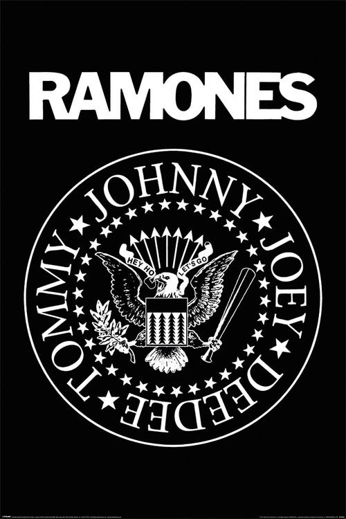 Poster Ramones - Logo